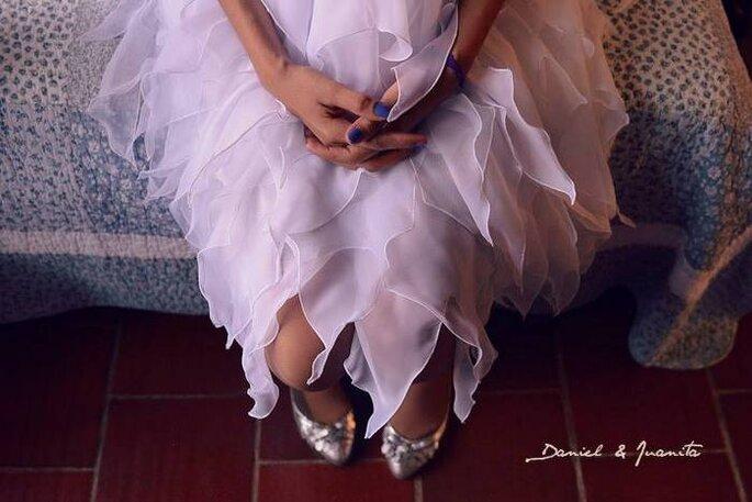 La novia en la sesión preboda. Foto: Juyá Photographer