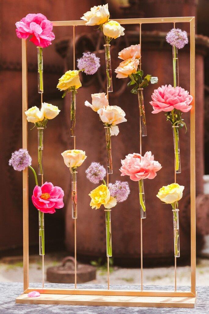 Decoraciones perfectas para tu boda con peonías - Foto White Rabbit Studios
