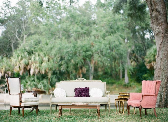 15 ideas súper ingeniosas para una boda al aire libre - Justin DeMutiis Photography