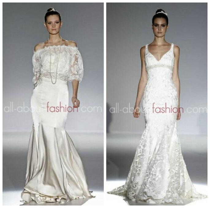 79426a3521 Najpiękniejsze suknie ślubne 2013 - przegląd kolekcji ślubnych