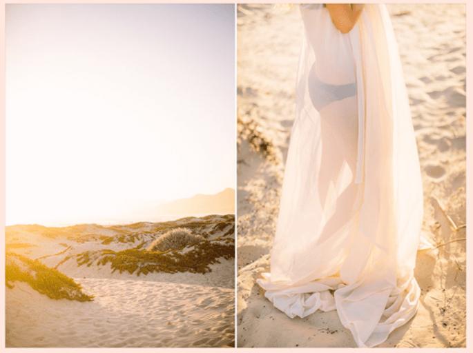 Elige una tela que complemente la elegancia de las fotos - Foto Danielle Capito