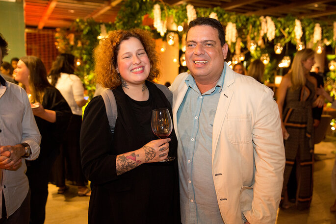Viviane Gratz e Philippe Mesquita
