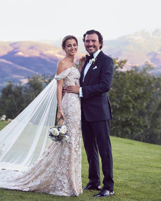 Decoração de casamento de Gabriela Palatchi e Ediz Elhadef.