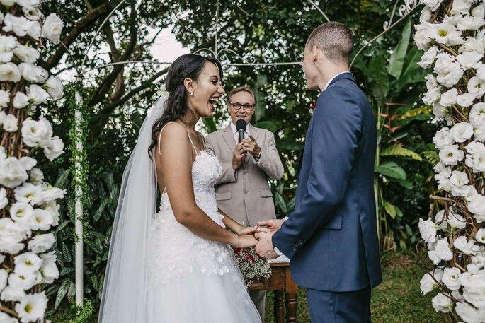 Celebração de casamento por Paulo Godoy