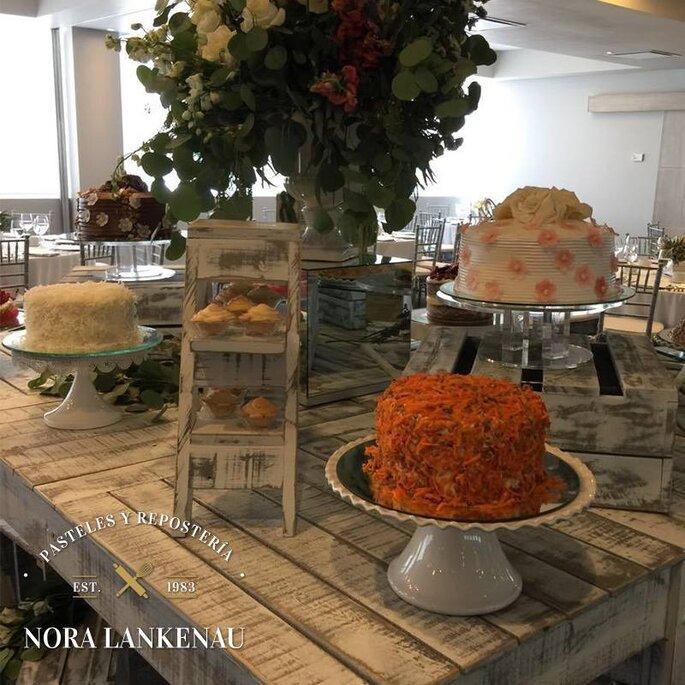 Nora Lankenau - Pasteles y repostería