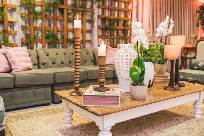 Lounges em casamentos