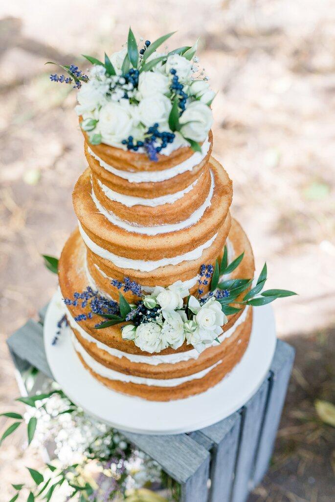 Dilekerei: Blick auf Hochzeitstorte von oben