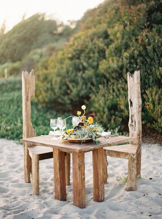 Montajes perfectos para una boda en la playa - Foto Jessica Kurt Boomer