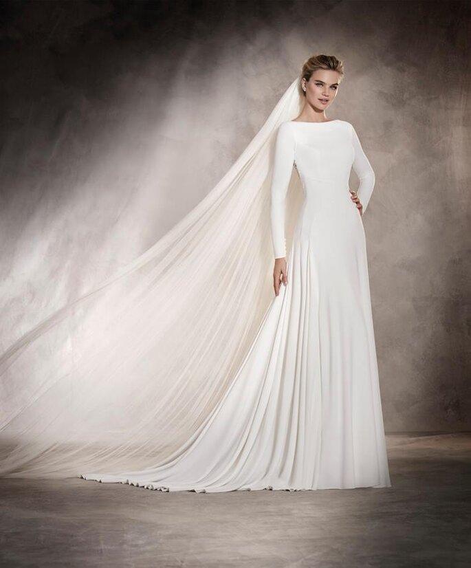 f888013fe7ae 6 tipi di manica lunga per il tuo abito da sposa e il freddo non ...
