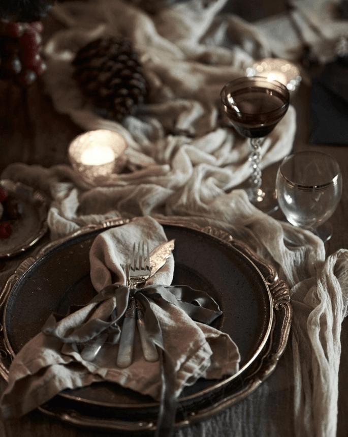 Mesa decorada por CRACHÁ – Wedding Agency