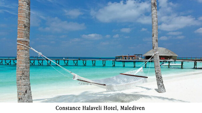 Constance Halaveli Hotel, Malediven