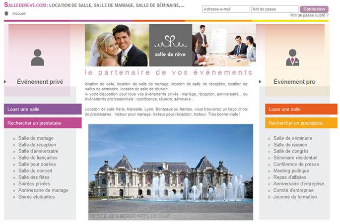 Salle de rêve : votre guide de mariage 100% gratuit