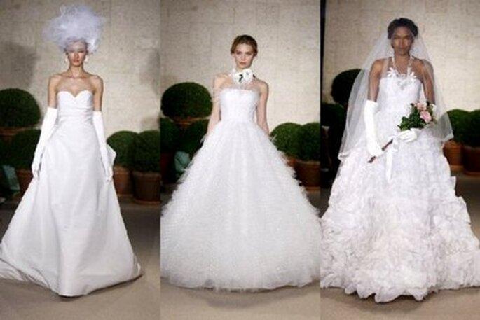 Vestidos de Noiva Oscar de La Renta 20110