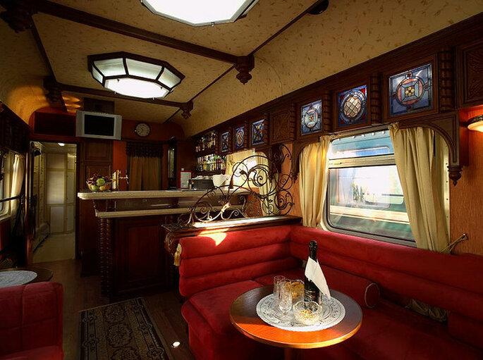 Transiberiana, di Train Chartering & Private Rail Cars. Foto via Flickr
