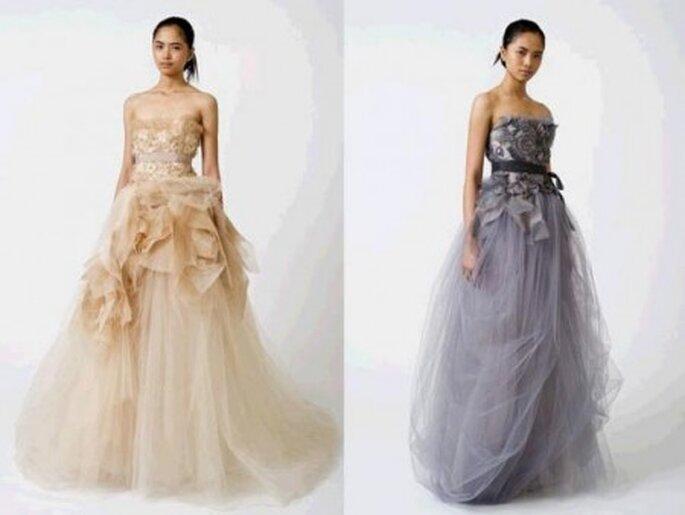 pastelowa suknia ślubna