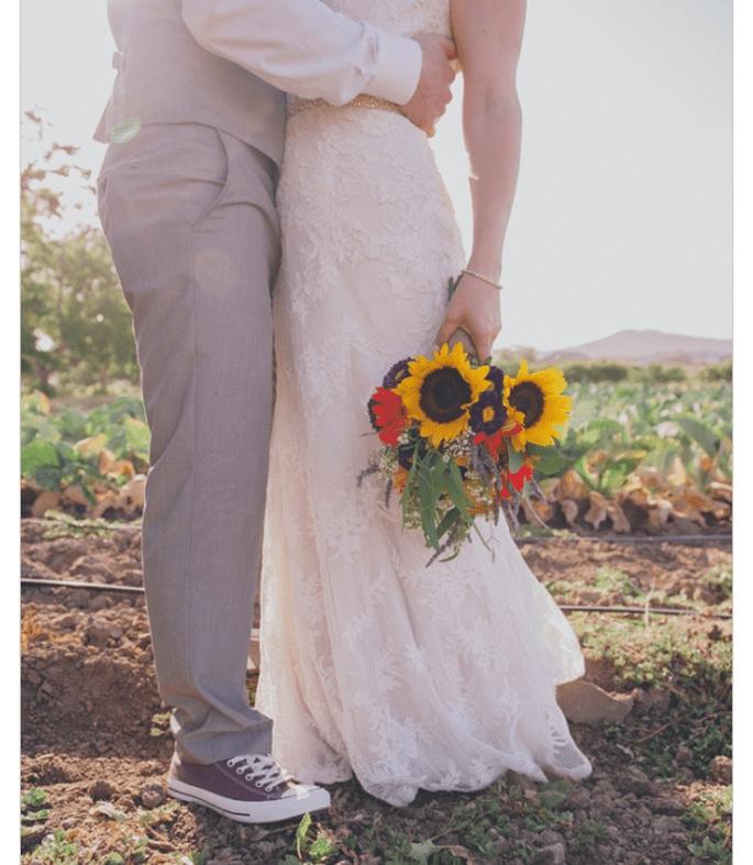 Tu novio se verá genial con un par de Converse - Foto Chaffin Cade Photography