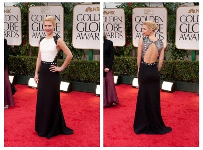 Clare Danes, Golden Globes 2012