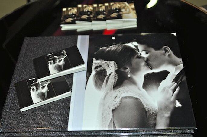 Miniálbum do seu casamento para seus convidados da Foto Studio Equipe