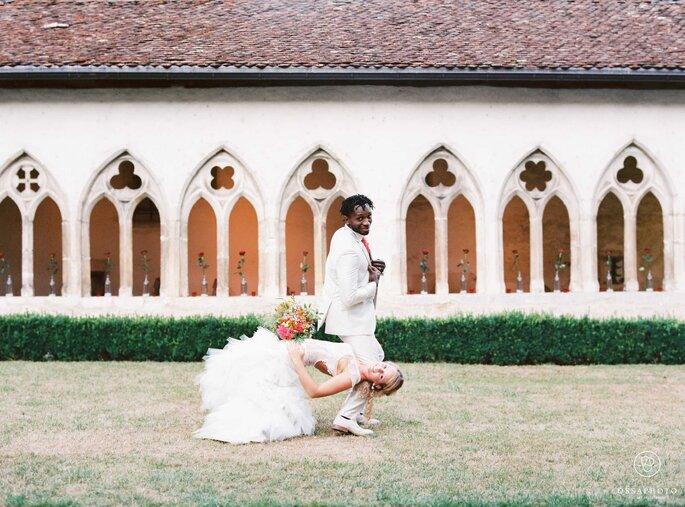 Célèbre Lucie et Tony : le mariage franco-congolais rempli de couleurs de  VD01