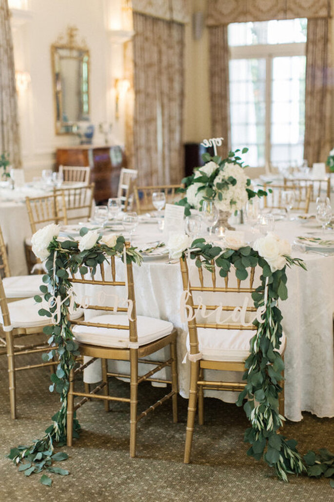 How To Decorate The Chairs At Your Wedding The Most Stylish Ideas