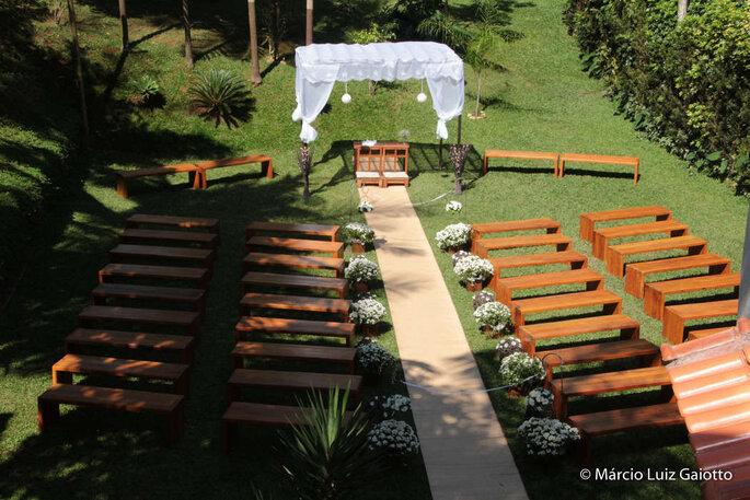 Cerimônia na natureza