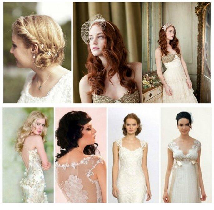 Hochzeit im Vintage-Stil - Trends 2014
