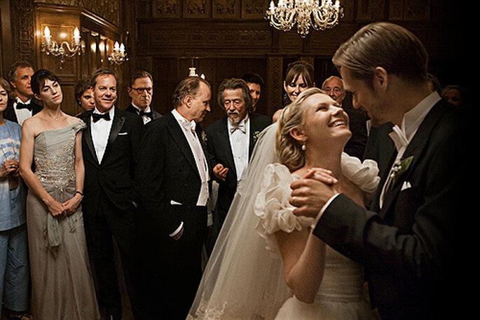 Kirsten Dunst y Alexander Skarsgard se dan el 'sí quiero' en 'Melancholia'