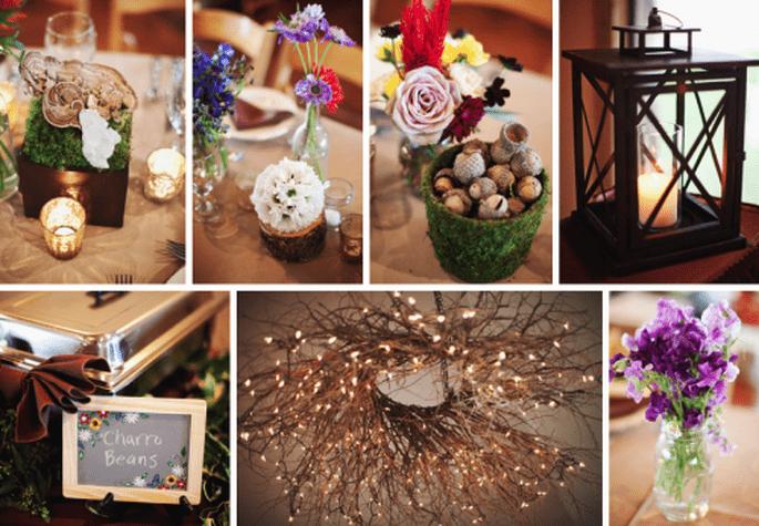 Ideas para decorar tu boda estilo vintage - Foto Stacy Reeves