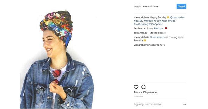 Foto via Instagram @memoriahats