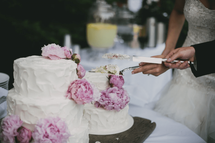 Tendencias en pasteles de boda 2014. Fotografía Alexandra Roberts