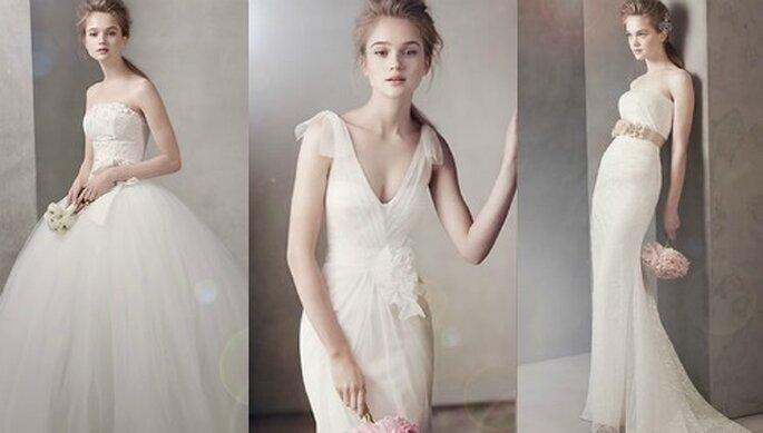 2 white by Vera Wang for David's Bridal