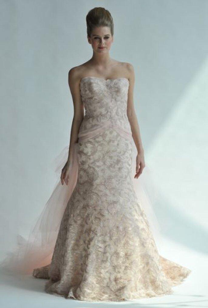 Robe de mariée rose Junko Yoshioka 2013