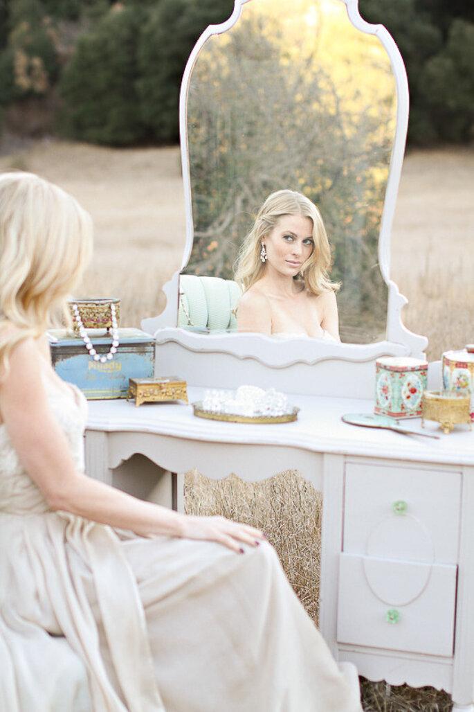 Espejos para la decoración de tu boda - Jennifer Ebert Photography