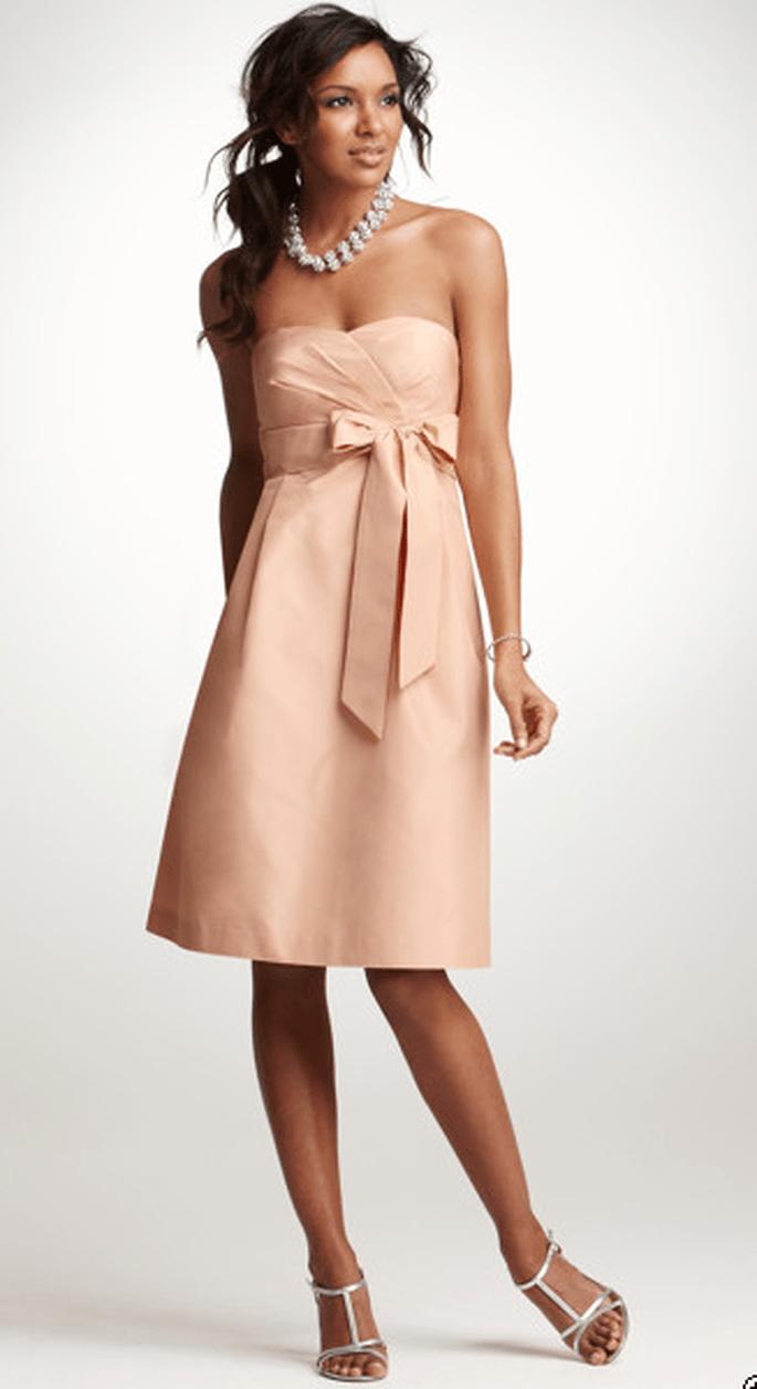Ann Taylor Silk Taffeta Strapless Dress, $165 (sale price).