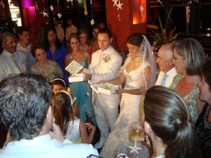 Liberación de mariposas en una boda. Foto: Mariposas La Trinidad