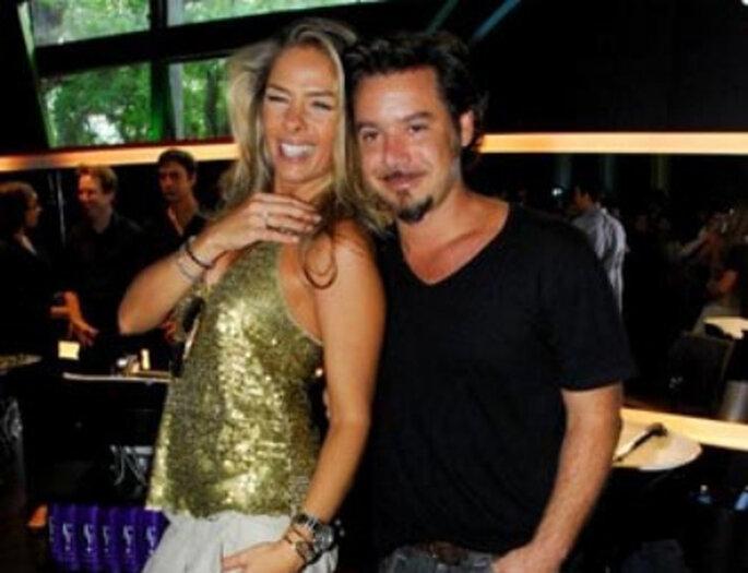 Adriane Galisteu y Alexandre Iódice - Número 6
