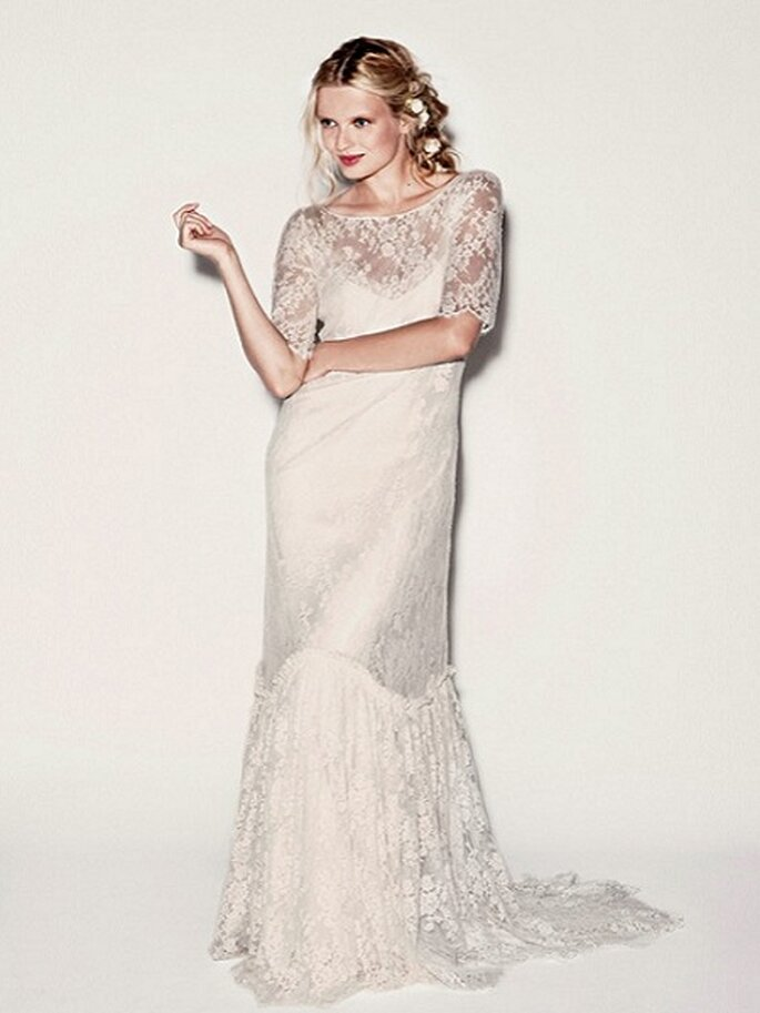 Romántico vestido de Delphine Manivet. Foto: Dephine Manivet.