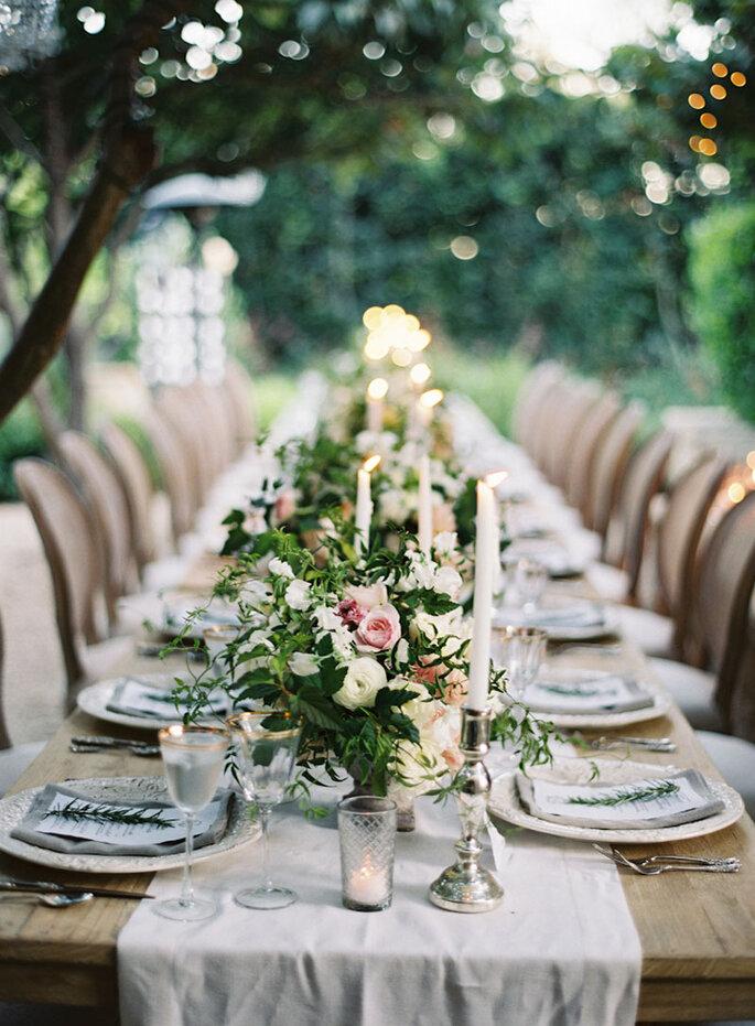 Favorito Allestimento per i tavoli del tuo matrimonio: ecco le migliori  WZ46