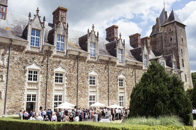 Le Château de la Groulais à Blain