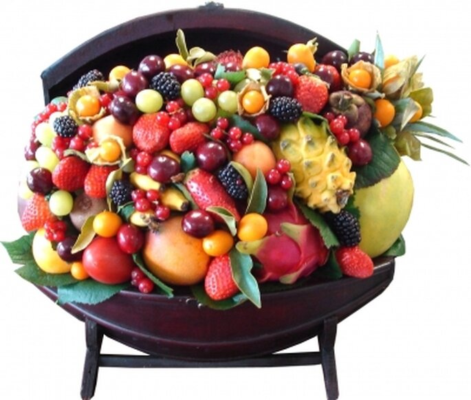 Une décoration de fruits à croquer pour votre mariage