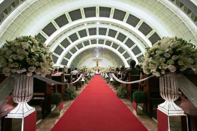 Cerimônia na igreja