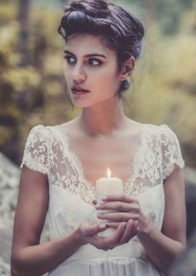 Une robe de mariée branchée par Laure de Sagazan !