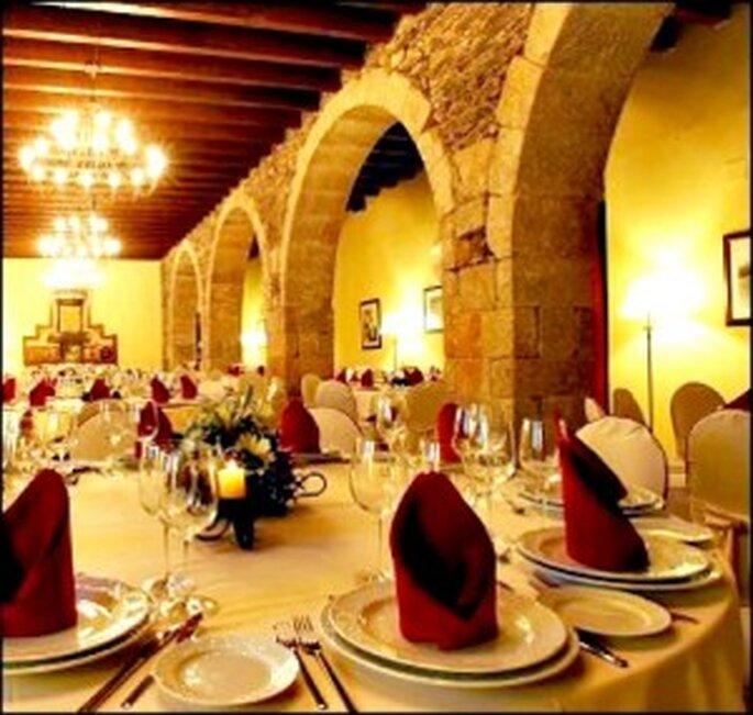 Celebración cena boda