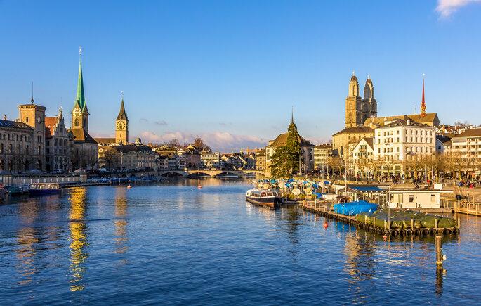 Blick auf Zürich!