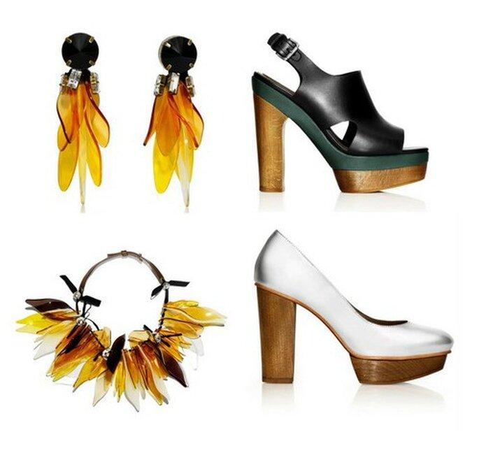 Alcuni degli accessori della Collezione Marni for H&M
