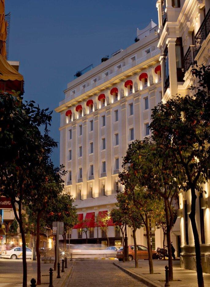 Los 8 mejores hoteles para bodas de sevilla - Andaluza de marqueteria ...