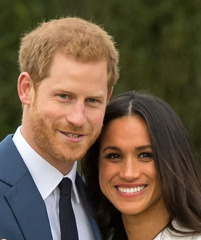 Príncipe Harry e Meghan Markle,