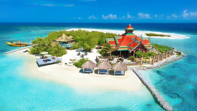 Resort de luxo na Jamaica