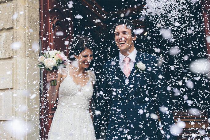 saída dos noivos igreja