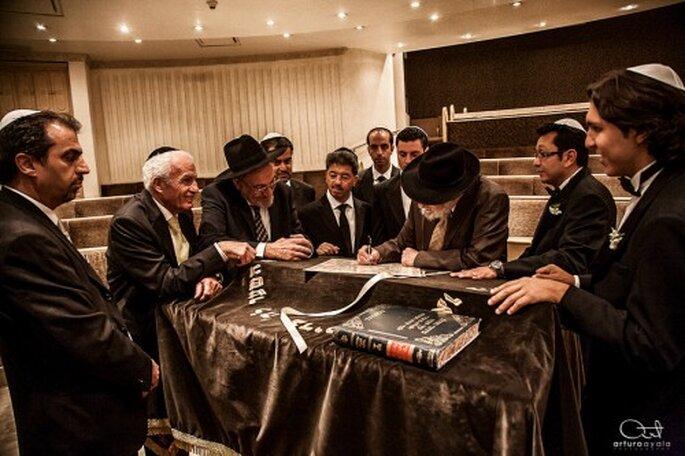Captura los mejores momentos en una boda judía - Foto Arturo Ayala